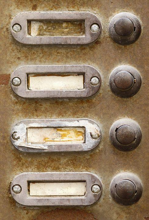 old doorbells - Art Gallery