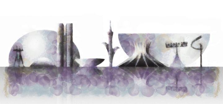 Brasilia skyline - Art Gallery