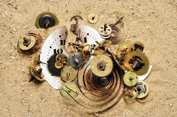 parts of clockwork mechanism on the - Art Gallery