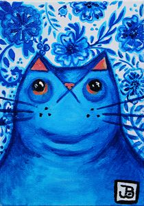 Blue China Cat