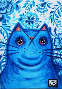 Blue China Cat 2