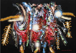 Abstraction Balinese Barong