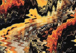 Batik Motive Abstraction