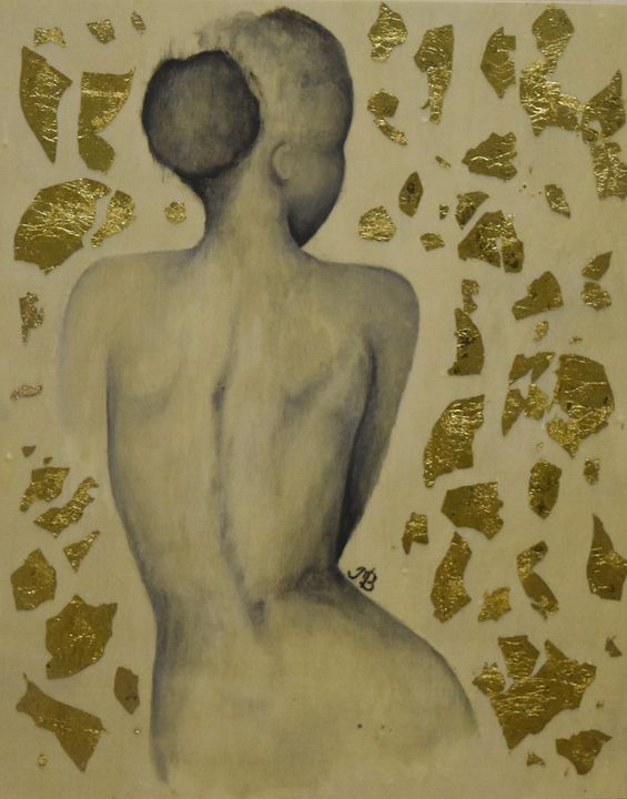 Girl's naked back - M.Bella Tsang