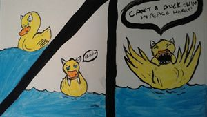 huffy devil duck