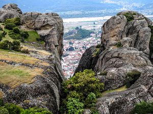 View of the Meteora Valley