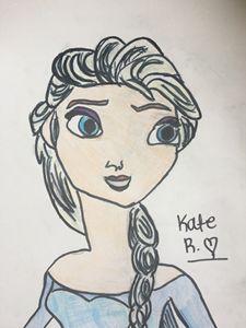 Elsa the Ice Queen