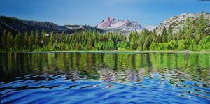 ''Morning On June Lake''
