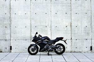 Yamaha Diversion F profile view
