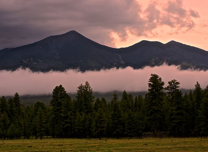 San Francisco Mountain's Cloud Cover - Nobility Ranch, Season M. Ellison