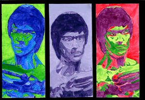 Faces Of BruceLee