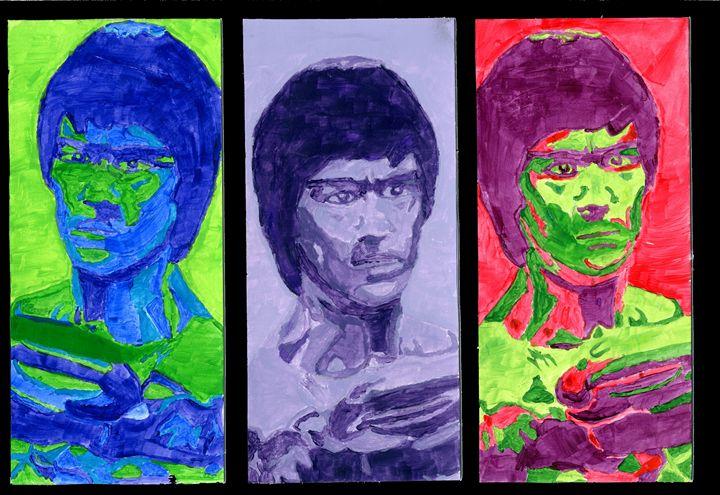 Faces Of BruceLee - DeepUniverse