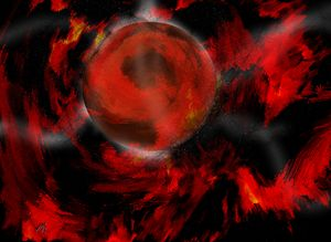 Planet of red