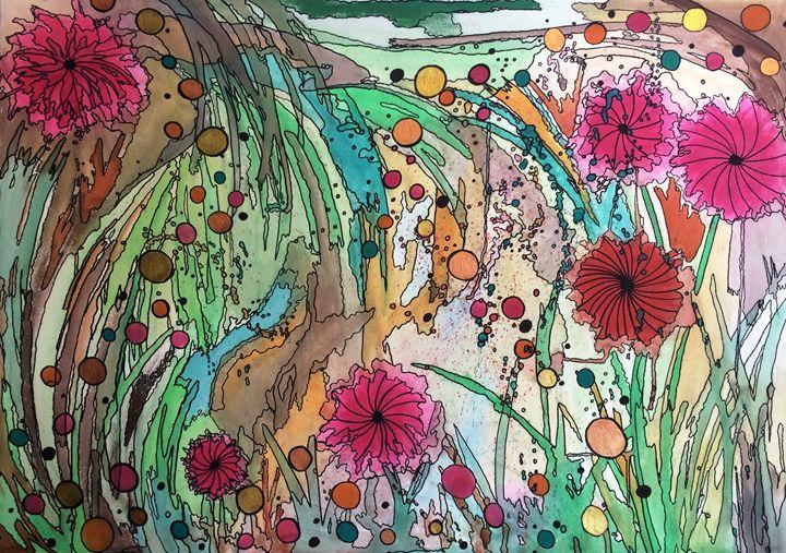 Garden Magic - Anna Savage Fine Art