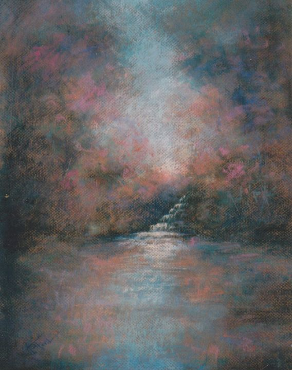 Mystic Lagoon - Ann Ford Fine Art