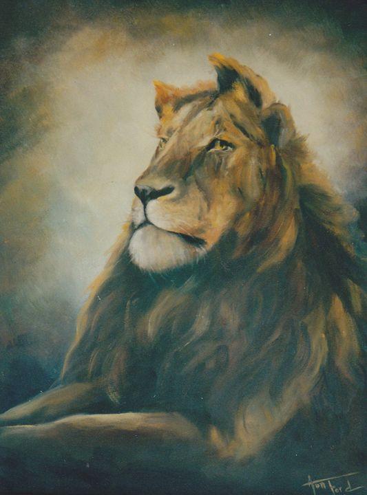 His Majesty - Ann Ford Fine Art