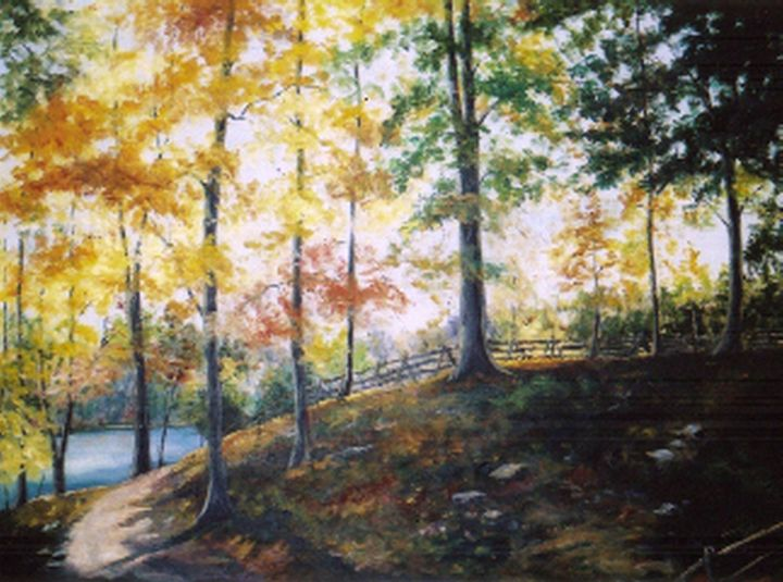 Indian Summer - Ann Ford Fine Art