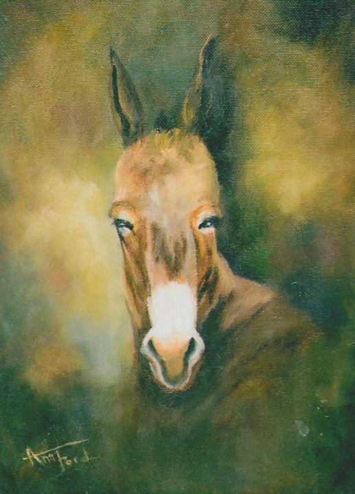 Stubborn - Ann Ford Fine Art