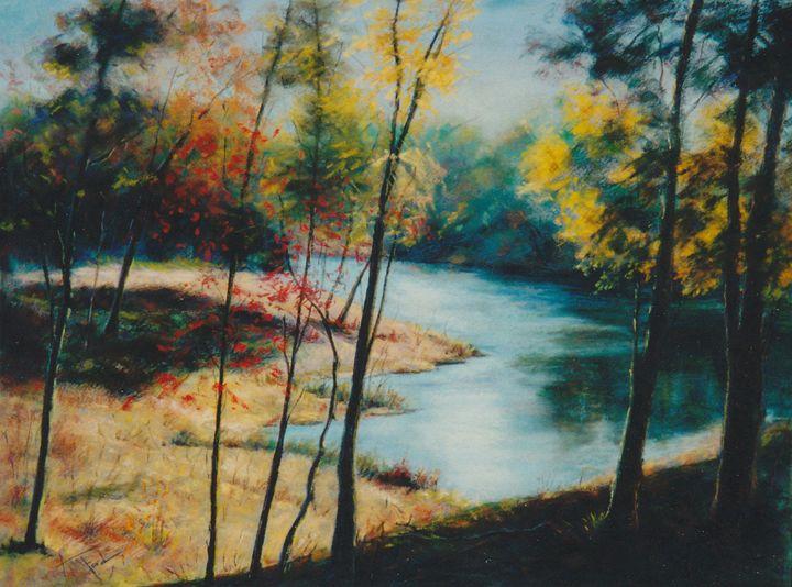 Autumn's Colors - Ann Ford Fine Art