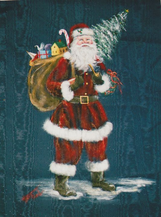 St. Nick - Ann Ford Fine Art
