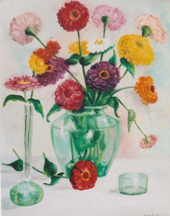 Green Glass - Ann Ford Fine Art