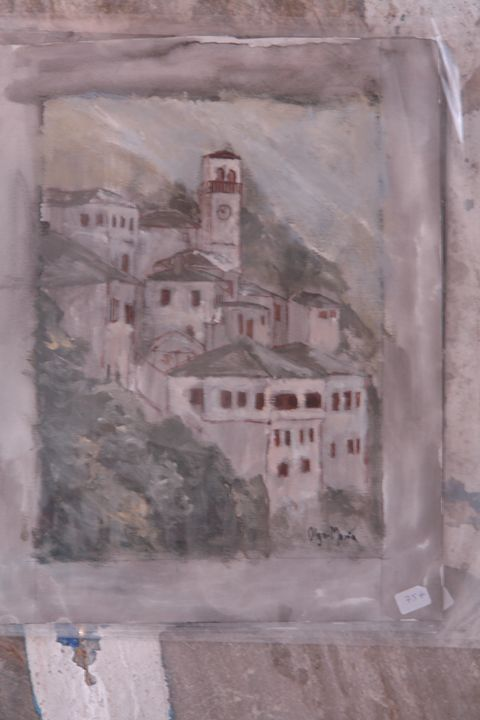 Landscape Makrinitsa Pelion Greece - Paschalis art house