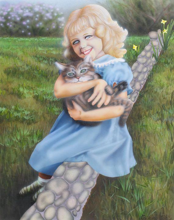 Sammy's Girl - Art by Ginny Rossin