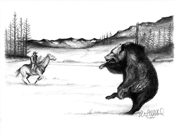 Ropin A Bear - Millard Saddle Repair & Art