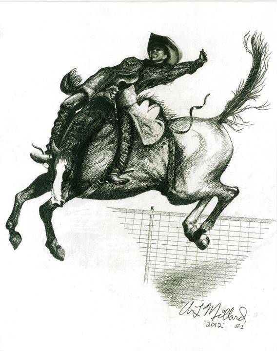 saddle Bronc - Millard Saddle Repair & Art