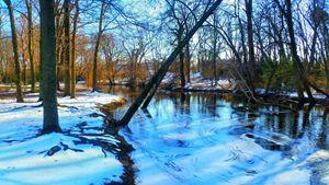 Winter Silver Lake