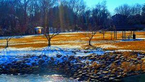 Dusk Dawn At The Pond