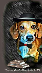 Daydreaming Dachshund Doggie Esquire
