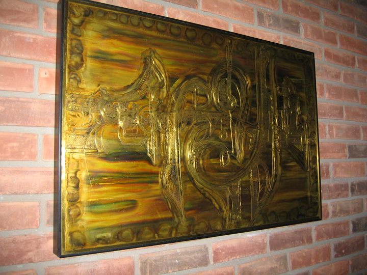 Acid Etched Metalwork by Bernhard Ro - Sherman's Home