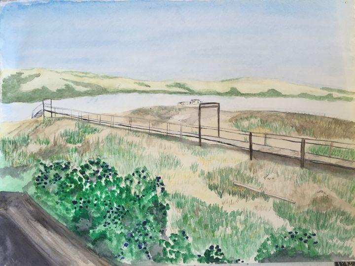 Tomales Bay - Art by K