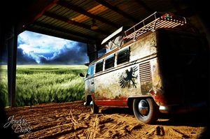 VW Bus Waycross GA Music Festival