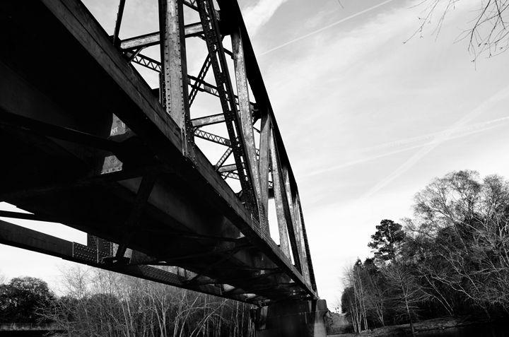 Blackshear, GA Bridge Blk and White - Drake Concepts
