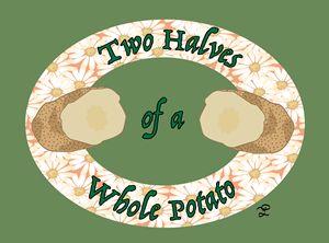 Two Halves of a Whole Potato - Jellybaby Artz