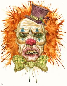 Grumpy Clown - JG Crafting and Art