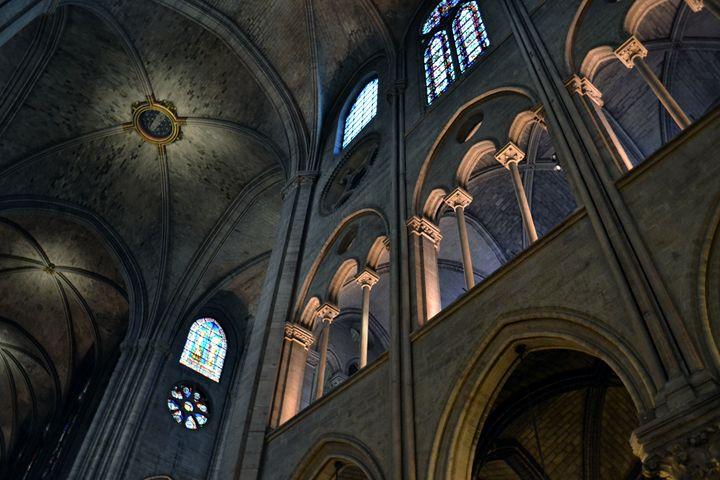 Notre-Dame Gallery Lights - Chris Urban