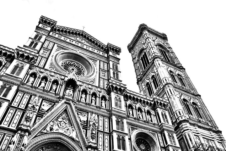 Il Duomo di Firenze (black & white) - Chris Urban