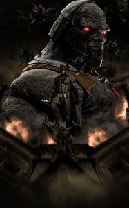 Darkseid-Batman