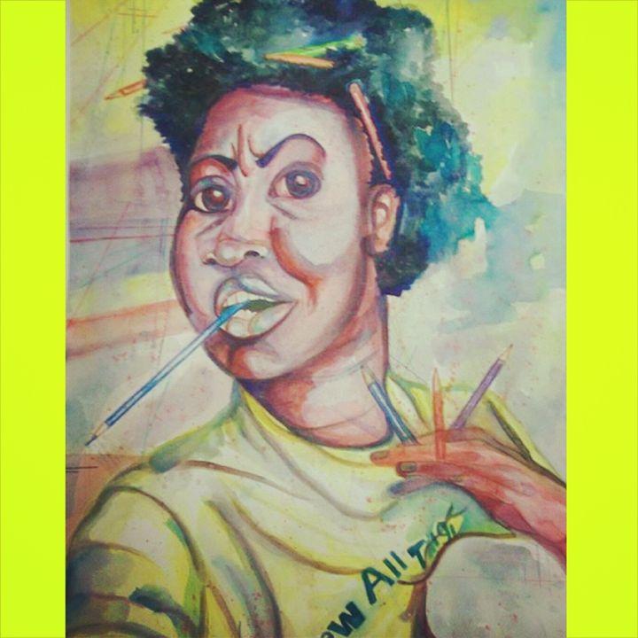 self portrait, 2012 - Amber Orr