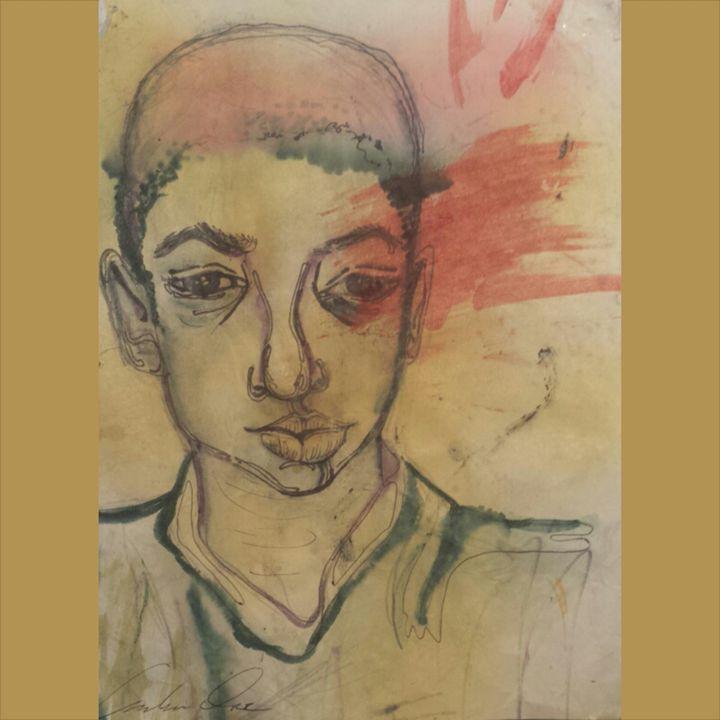 Portrait of a little boy, 2006 - Amber Orr