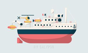 Jacques Cousteau's Vessel Calypso