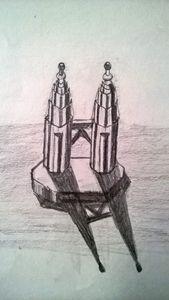 3D Petronas Twin Towers