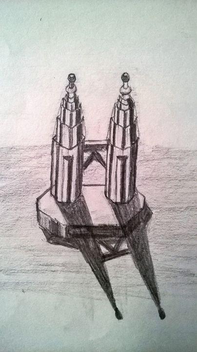 3D Petronas Twin Towers - Artment