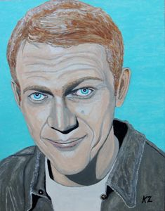 The king of cool. Steve McQueen. - Ken's Rockstars on parade