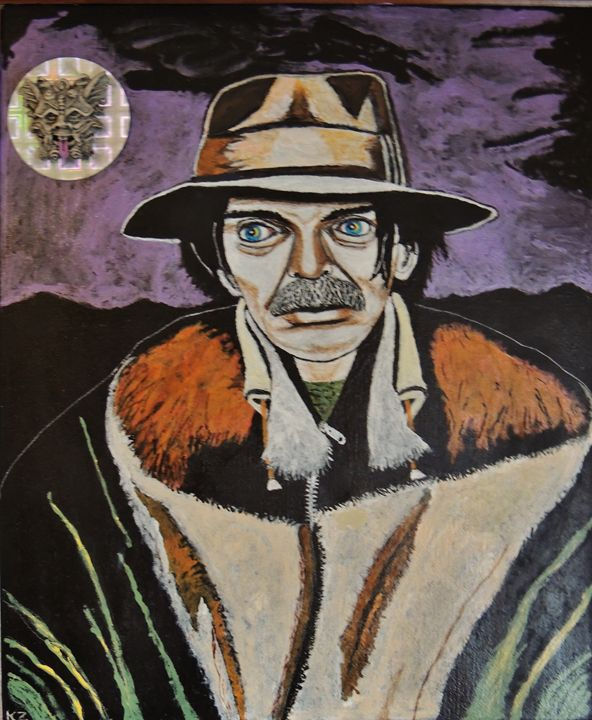 Mushrooms with Captain Beefheart. - Ken's Rockstars on parade