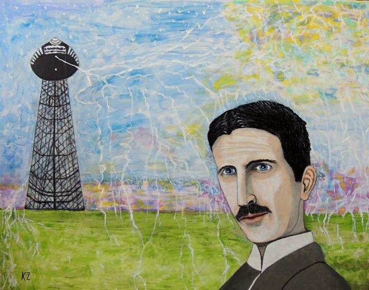 Tesla's Tower. - Ken's Rockstars on parade