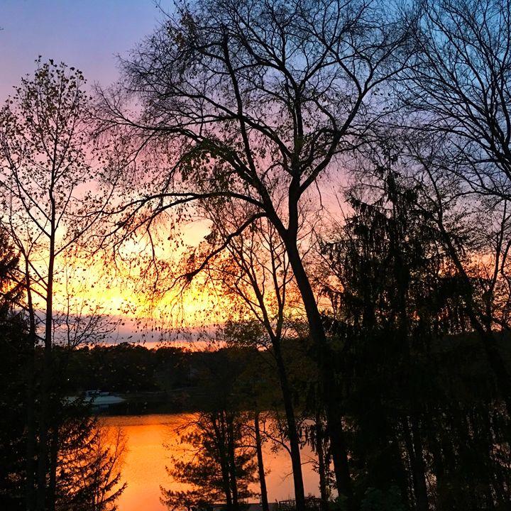Fall sunset - PhotosbyNan